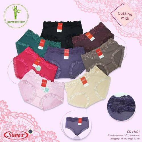 Foto Produk Celana Dalam Wanita Bamboo Fiber Sorex 14101 dari MMcollections mom&kids