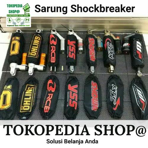 Foto Produk Sarung Shockbreaker Cover shock Ohlins. Showa. Wp. Ktc. Yss. Rcb. Nmax dari tokopedia shop@