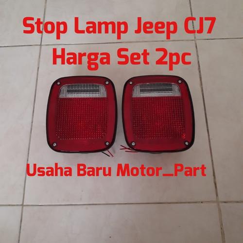 Foto Produk Lampu Stop Rem 2pc JEEP Cj7 dari Usaha baru motor