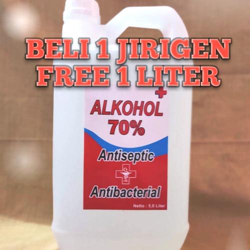 Foto Produk alkohol 70% 5 liter dari QueenKimia
