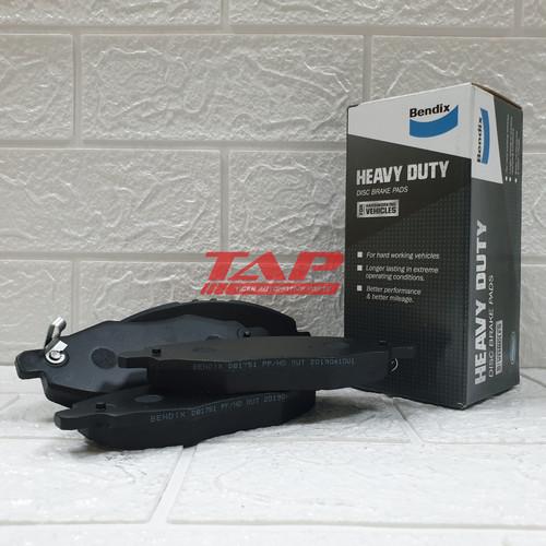 Foto Produk BRAKE DISC PAD - KAMPAS REM DEPAN INNOVA BENDIX DB1751 dari TIGER AUTOMOTIVE PARTS