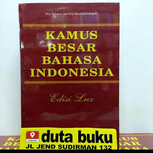 Foto Produk KAMUS BESAR BAHASA INDONESIA EDISI LUX WIDYA KARYA - Hardcover dari DUTA BUKU PELAJARAN UMUM