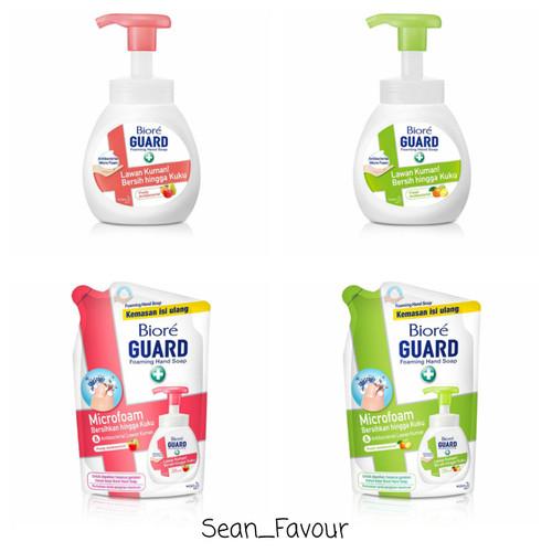 Foto Produk Biore foaming hand wash / Biore sabun cuci tangan hand wash 250 ML - HIJAU, Refill dari sean_favour