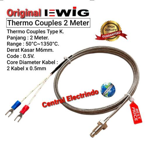 Foto Produk Thermo Couple Temperature Control 2mtr. dari central electrindo