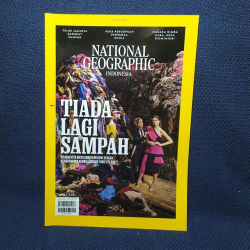 Foto Produk National Geographic. ed maret 2020. TIADA LAGI SAMPAH dari naurahbook