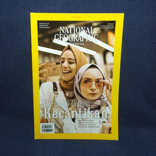 Foto Produk National Geographic. ed feb 2020. Merombak Definisi Kecantikan dari naurahbook