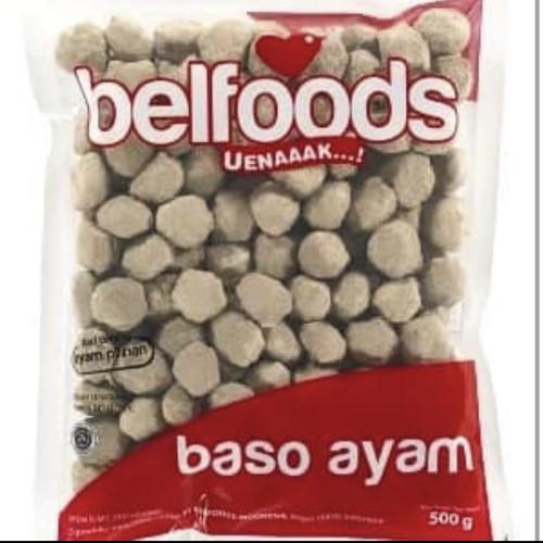 Foto Produk belfoods bakso ayam kerikil 500gr dari Aishakira online