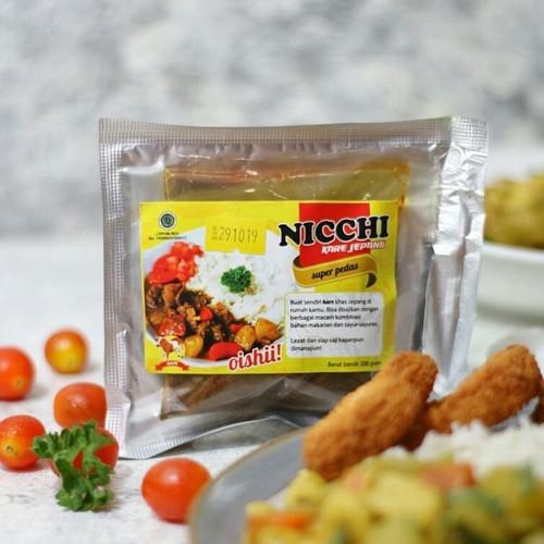 Foto Produk NICCHI Bumbu Kare Jepang Instant Halal - 100 gram - Ayam, Sangat Pedas dari sheenofficial