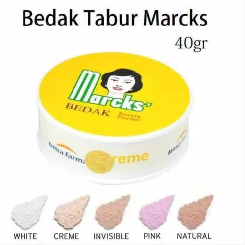 Foto Produk Bedak Tabur Marcks Klasik 40 gram - Rose dari To Sehat Jakarta