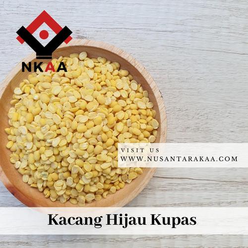 Foto Produk kacang hijau kupas super kemasan 1kg dari www nusantarakaa com