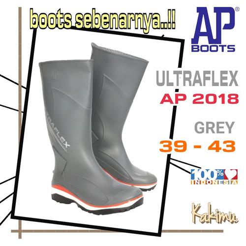 Foto Produk SEPATU BOOT AP BOOTS ULTRAFLEX 2018 GREY dari kakimu_ols