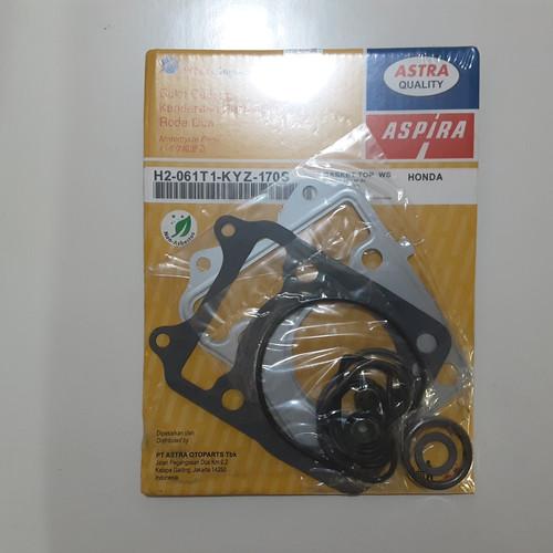 Foto Produk Gasket Top Set Aspira With Seal Klep For Supra x 125 Helm In dari Mitramandirisejahtera