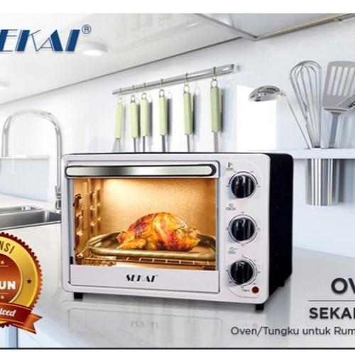Foto Produk Sekai Oven Listrik 18 Liter OV - 180 dari Fortuna Elektronik