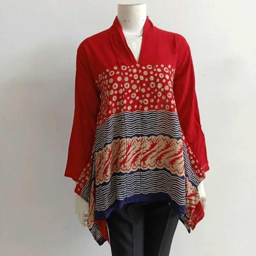 Foto Produk Kartini Batwing blouse atasan batik wanita dari Batik Sri