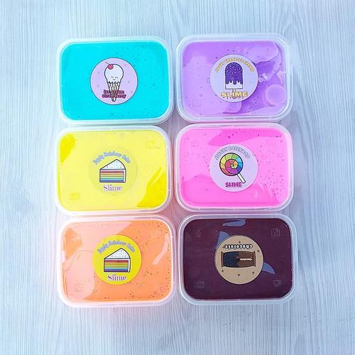 Foto Produk Slime BerSNI/Slime Tofu Tosca 200cc/Slime Jiggly/Slime Original dari www-bajualya-com