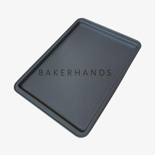 Foto Produk Loyang Cookies/Cookie pan abu2 anti lengket dari Bakerhands
