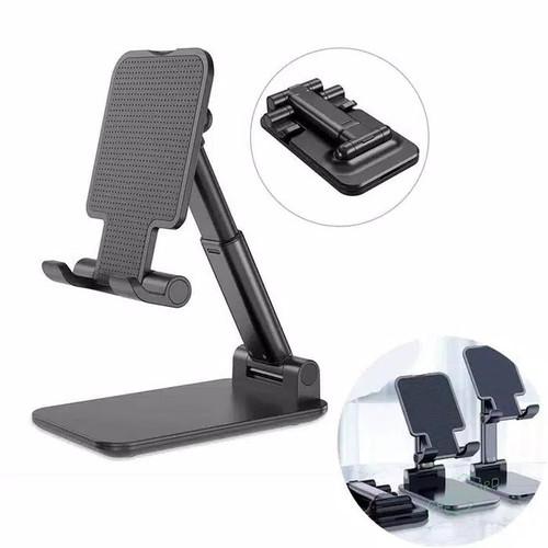 Foto Produk Folding Desktop / Phone Stand Standing Holder Desk / Dudukan HP Lipat dari Nicestuff88