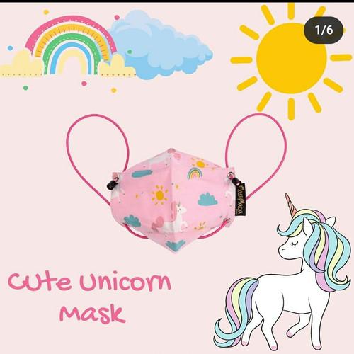 Foto Produk Masimada Kids Cute Unicorn Mask - dewasa earloop dari MasiMada Kids