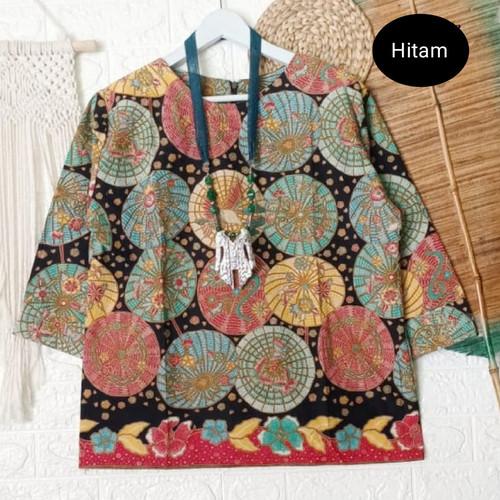 Foto Produk atasan batik wanita umbrella top dari Batik Sri