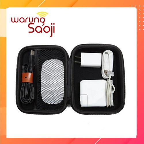 Foto Produk Portable Organizer Apple Magic Mouse, kabel, charger macbook Air EVA dari Warung Saoji