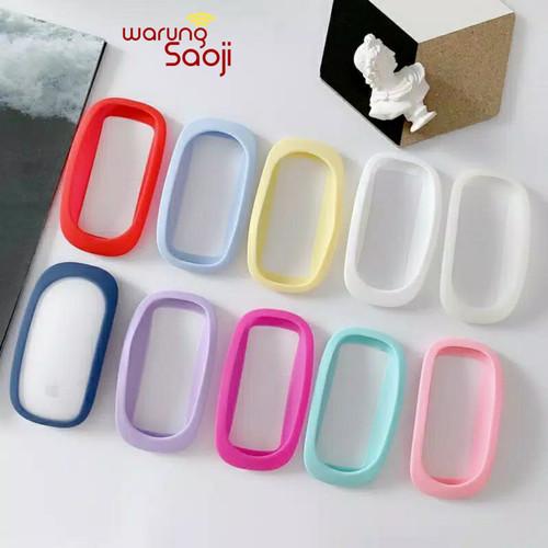 Foto Produk Apple Magic Mouse 1 2 Case Casing Soft Silicone AMM004 dari Warung Saoji