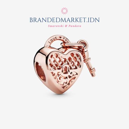 Jual Pandora Love You Heart Padlock Charm Original Ori Hadiah Branded Gift Kota Medan Brandedmarketidn Tokopedia
