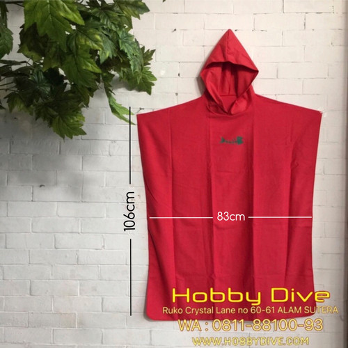 Foto Produk Diving Suit Change Poncho Hood Quick Dry HD-518 - Scuba Diving dari Hobby Dive