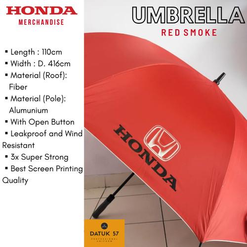 Foto Produk Souvenir Hadiah Payung Honda Golf - Hitam dari Datuk Collection