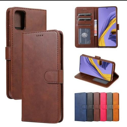 Foto Produk Case SAMSUNG Galaxy A51 leather flip cover wallet kulit dari FerraruACC