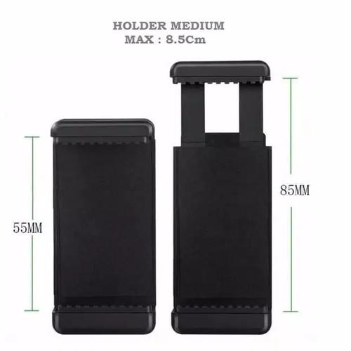 Foto Produk Clamp Holder U Tebal Phone Holder Hp 2 Posisi dari jaminmurah899
