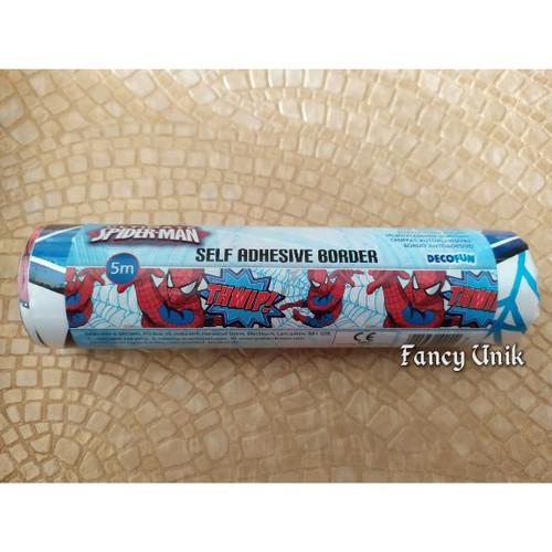 Jual Border Wallpaper Sticker Roll Karakter Starwars Dan Lain Lain Spiderman Jakarta Barat Fancy Unik Tokopedia