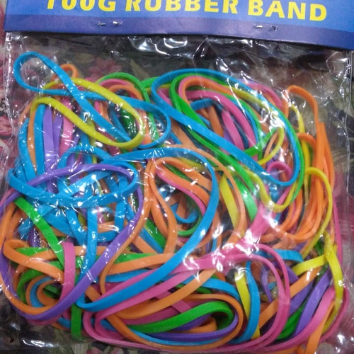 Foto Produk karet gelang tebal warna warni dari Feraw Shop