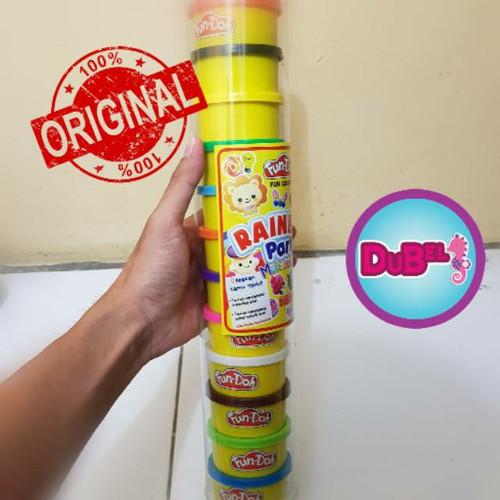Foto Produk Fun Doh Refill isi 12 Pc / ORIGINAL / Lilin Mainan Anak - Tanpa buble dari Dunia Belajarku
