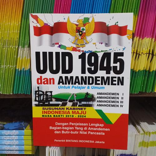 Foto Produk Buku Undang Undang ( UUD ) 1945 dan Amandemen Untuk Pelajar dan Umum dari nasution. shop