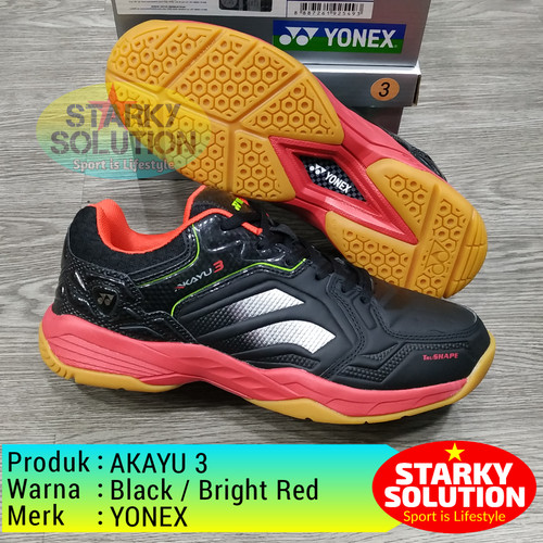 Foto Produk YONEX Akayu Black Sepatu Bulutangkis Original dari Starky solution