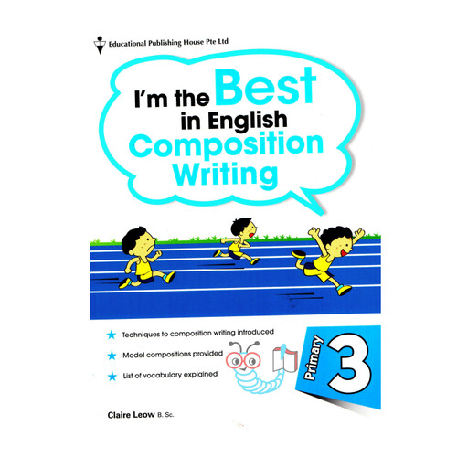 Foto Produk I'm The Best In English Composition Writing p3 dari Little Bookworm