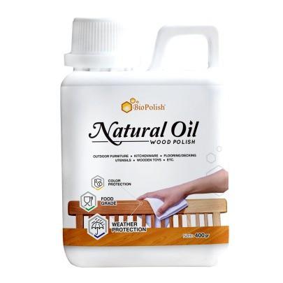 Foto Produk Finishing Kayu Food grade biopolish Natural Oil pernis kayu alami dari Semesta Satu