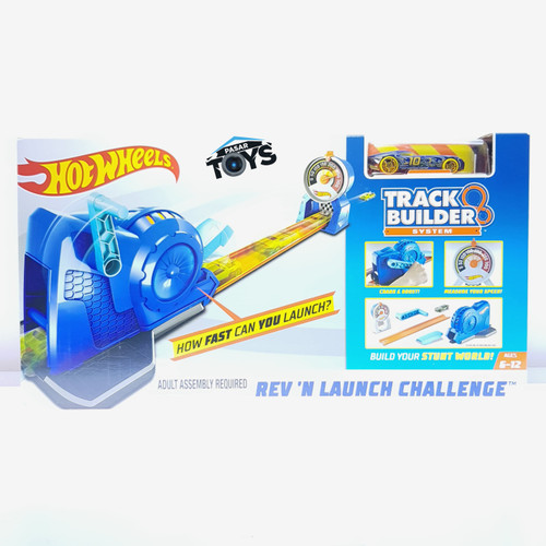 Foto Produk Hot Wheels Track Builder Rev 'n Launch Challenge dari Pasar Toys