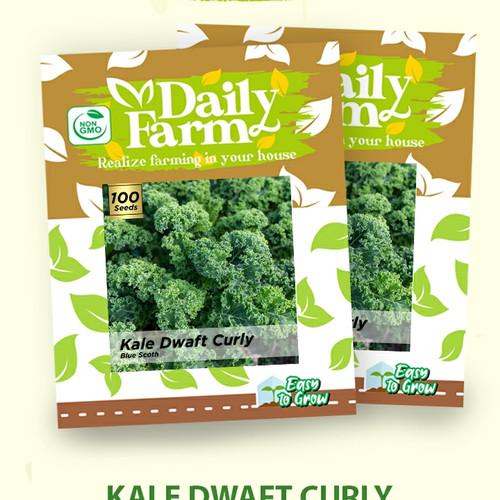 Foto Produk Benih Kale Green Drawft Curly ( Benih Import Repack ) dari Damai-Shop