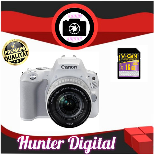 Foto Produk kamera canon 200d kit 18-55 IS III dari HUNTER DIGITAL