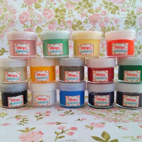 Foto Produk Pigment pewarna resin perlengkapan pigmen cat resin cast bahan craft dari Wimpy Clay