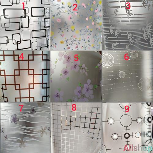 Foto Produk sticker kaca motif Lebar122cmxP50cm - Ready No.1-34 dari AllShopsticker