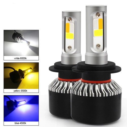 Foto Produk Foglamp Led Mobil H8 H9 H11 4 Warna Plus Strobo R222 dari RTD LED