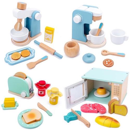 Foto Produk Cafe Bakery Wooden Toy Pastel Pretend Play Masak Masakan Mainan Kayu - Mixer dari My Own Flashcards
