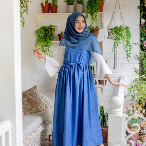 Foto Produk Jeju Overall - French Blue, Overall Only dari sheenofficial
