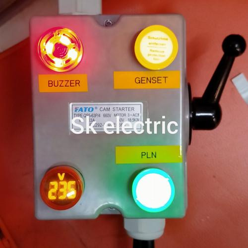 Foto Produk handle genset/ohmsaklar/cos change over switch 63A 5500watt 1phase - 20A dari SKelectric