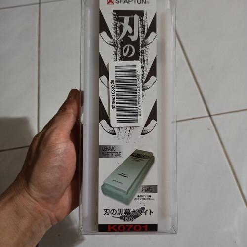 Foto Produk Shapton 1000 1500 2000 5000 8000 12000 Ha No Kuromaku Whetstone ORI - 120 dari Hidroponik di Surabaya