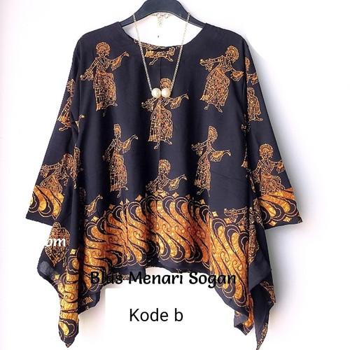 Foto Produk batwing top atasan big size dari Batik Sri