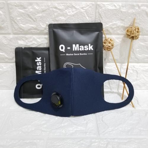 Foto Produk Masker Qmask filter terbuat dari serat bambu dari BBTronik