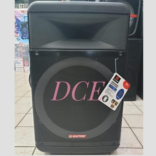 Foto Produk Speaker Portable ASATRON HOLLYWOOD 15 inch Meeting Wireless Bluetooth dari D C E